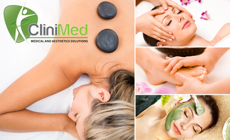 Relax with invigorating pampering packages from CliniMed in Parklands, starting from R299 per person
