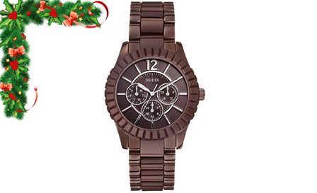Sleek Sophistication! Pay R1499 for a ladies GUESS Time Facet watch, including delivery