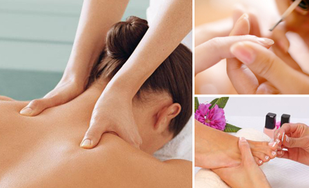 Indulge in a luxury mani or pedi (R99) OR massage and classic mani or pedi (R275) at Saigon Massage, Rivonia