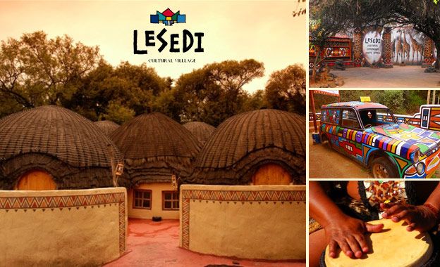 Cradle of Humankind - Cultural experience at Lesedi African Lodge & Cultural Village, starting from R1199 per night for 2 adults