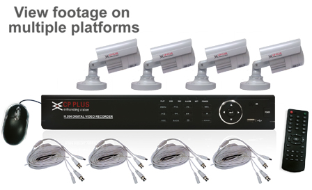 Secure your home with a DIY 8-channel DVR kit for R3999, including delivery