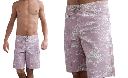 Summer is here! Pay R549 for a white floral REPLAY 'Sun Fun' boardshorts, including delivery