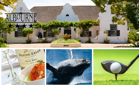 Somerset West - Relax with a 4-star getaway to Albourne Guesthouse for R789 per night for 2, including breakfast