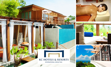 Thailand - Revel in a 7-night stay for 2 at KC Resort & Over Water Villas for only R1699, including breakfast