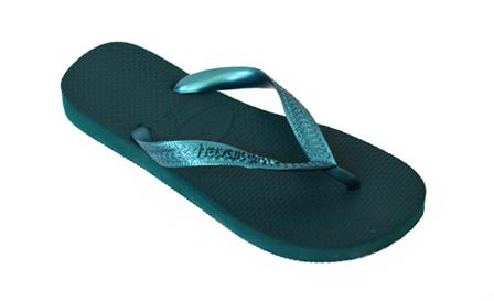 192c71687011 Metallic Dark green unisex Havaianas flip flops for R229