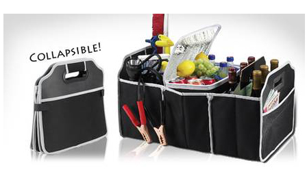 Terrific organisation! Pay R279 for 2x collapsible boot organisers, including delivery (save R120)