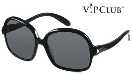 GUESS! Pay R699 for Ladies Oversized Swarovski Black sunglasses, including delivery (save R1800)