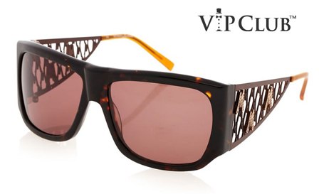 GUESS! Pay R699 for Ladies Rhinestone Weave sunglasses, including delivery (save R1800)