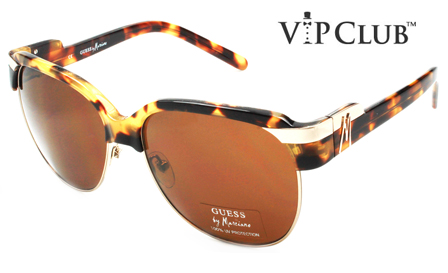 GUESS! Pay R699 for Unisex Retro Tortoise Sunglasses, including delivery (save R1800)
