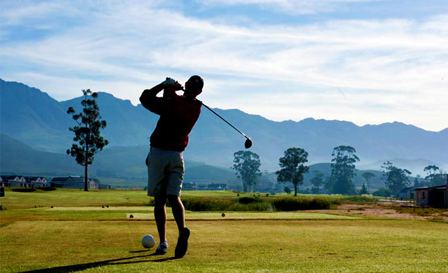 18-hole including golf carts from R459 for a 2-ball at Robertson Golf Club (save up to 54%)