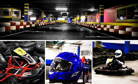 10-lap race for 2 people for R89 at Century Karting, Canal Walk / Kenilworth (save 55%)
