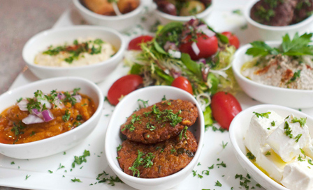 Gourmet platters (sandwiches, finger snacks or mezze) for up to 15 people from R199 with White's Catering (save up to 50%)