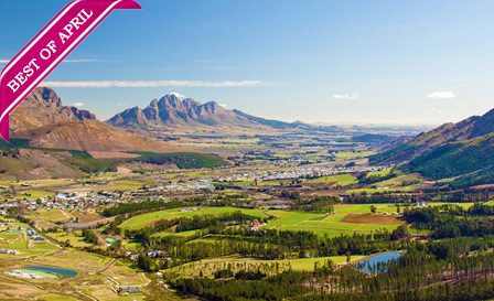 Franschhoek: 4-star stay including breakfast and bonus at Klein Oliphants Hoek, from R699 per night for 2 (save up to 54%)