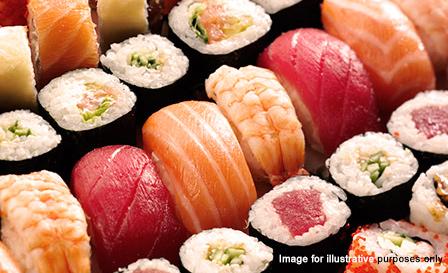 24-piece sushi platter to share for R99 at Sakura, Mowbray (save 51%)