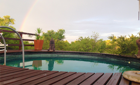Cradle of Humankind: Self-catering log cabin retreat for 2 or 4 at Cradle Cove, from R499 per night (save up to 50%)
