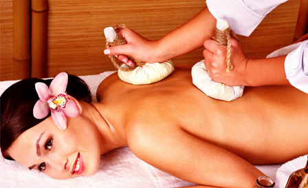 Hot stone or Herbal heat massage + Reflexology or Neck and head massage for R199 at Lavender Thai Massage, Camps Bay (save 62%)
