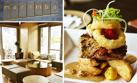 Choice of 250g sirloin, 600g ribs or linefish with sides from R139 for 2 at Marimba Restaurant, Foreshore (save up to 52%)