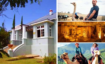 Oudtshoorn: 2 nights self-catering stay for 2 people for R399 at Oasis Shanti (save 50%)