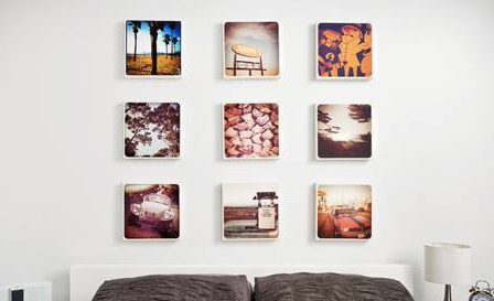 Up to 4 mounted personalised canvas prints (30cm x 30cm) from R99 for 1 (save up to 69%)