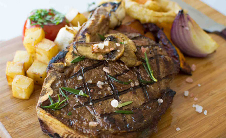 Kudu shanks, 300g Rump, Lamb curry or Rotisserie chicken with sides from R195 for 2 at Seelan, V&A Waterfront (save up to 52%)