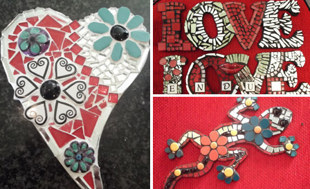 Mosaic classes (6hrs) including tools and more from R99 for 1 at Tylo Mosaic Worx (save up to 80%)