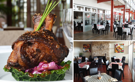 Eisbein, Lamb shank OR any pizza or pasta from R99 for 2 at Baranapoli, West Beach (save up to 55%)