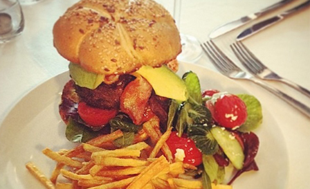 Gourmet beef or chicken burgers served with sides from R99 for 2 at Thornton Whites, Foreshore (save up to 52%)
