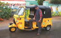 Be part of this unique experience with a 2 hour Tuk Tuk Soweto Tour for 2 adults and 2 kids by Lebo's Soweto Backpackers for just R220.